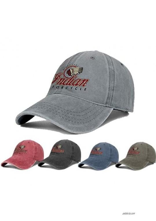 LQGAD Mens Women's Washed Cool Cap Adjustable Snapback Beach Hat