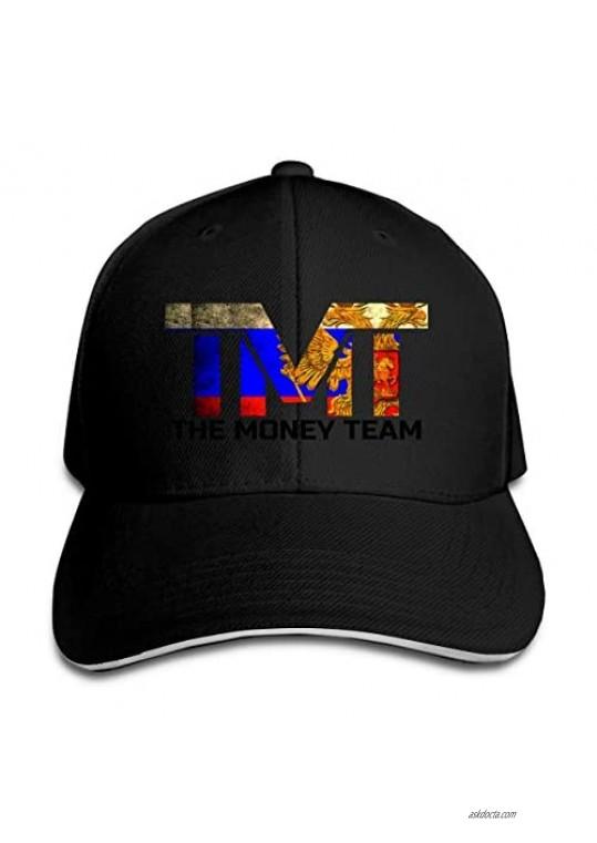 RDYLLLY Floyd Mayweather Baseball Caps Adjustable Rapper Hat Casquette Men Women Black