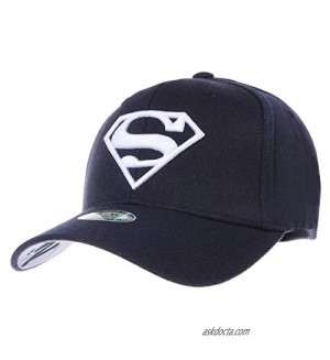 WITHMOONS Superman Shield Embroidery Baseball Cap AC3260