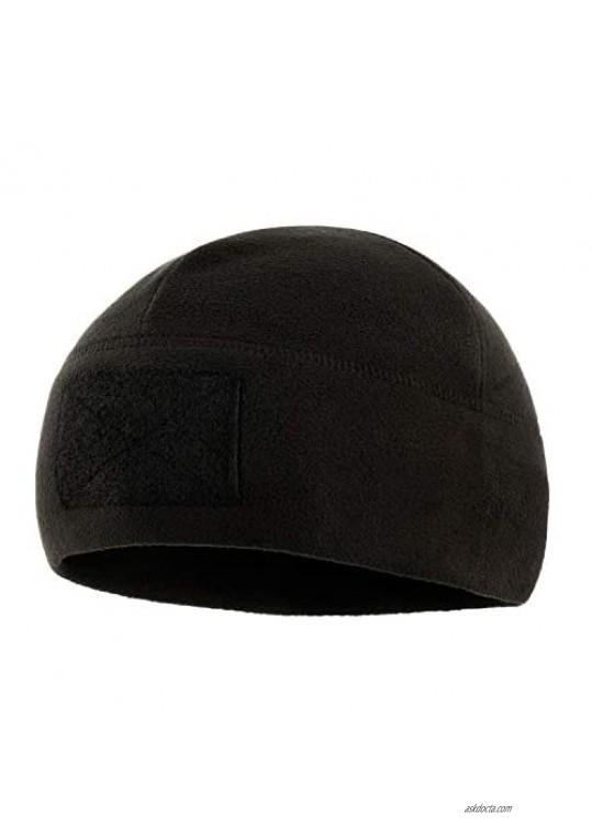 M-Tac Tactical Beanie Fleece Watch Cap - Winter Hat Elite - Patch Panel