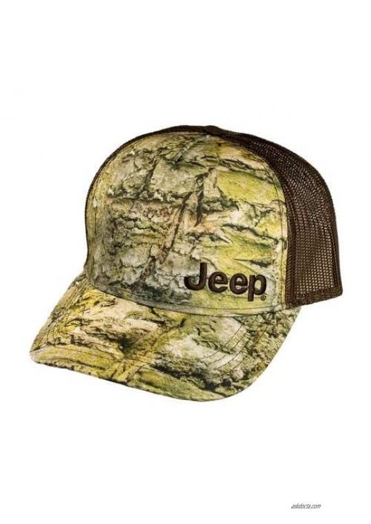 Jeep Premium Mossy Rock Hat White