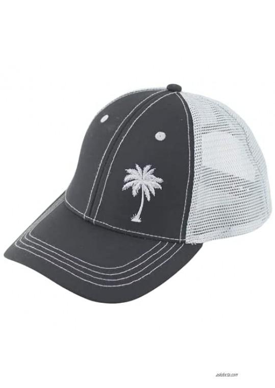 Palm Tree Hiking Camping Hat Surfing Biking Out Door Hats Baseball Trucker Caps