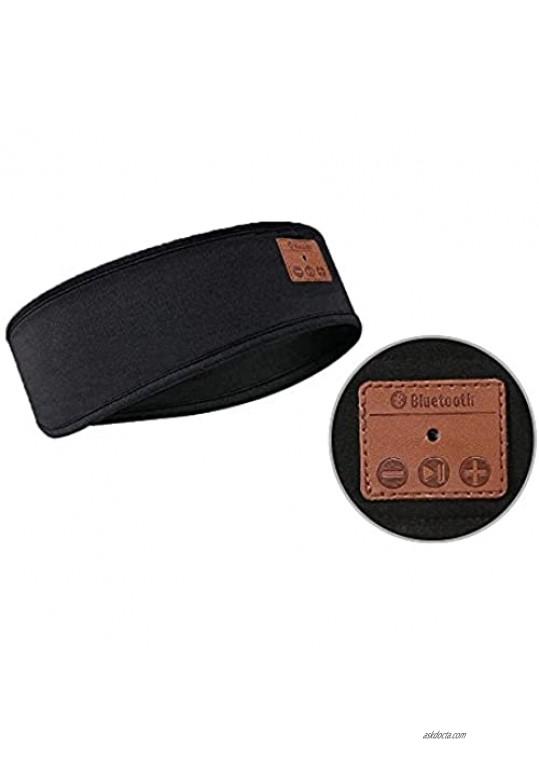 Sleep Headphones Bluetooth Sleeping Headband Sleeping Headphones Music Headband Great for Side Sleepers Running Yoga Insomnia Travel Gift for Men Women (Grey)