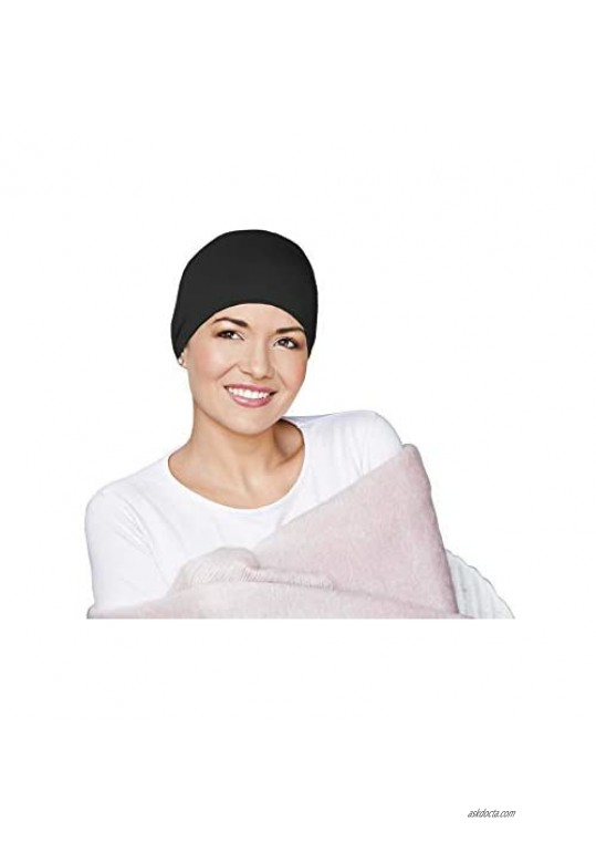 Cotton Sleeping Chemo Hats for Women Cancer Headwear | Night Caps for Hair Loss