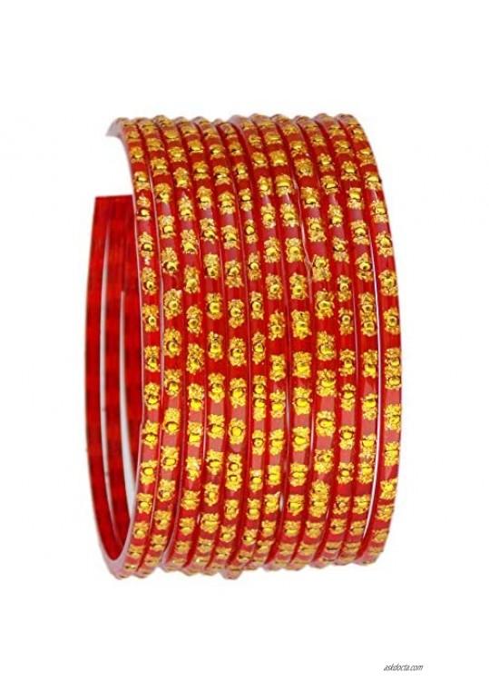Indian Jewelry Bangles Bollywood Bangle Bridal Ethnic Dailywear Glass Bangles Set For Women Traditional Bangles