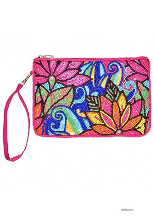 Bamboo Trading Company Clutch Lotus Collage