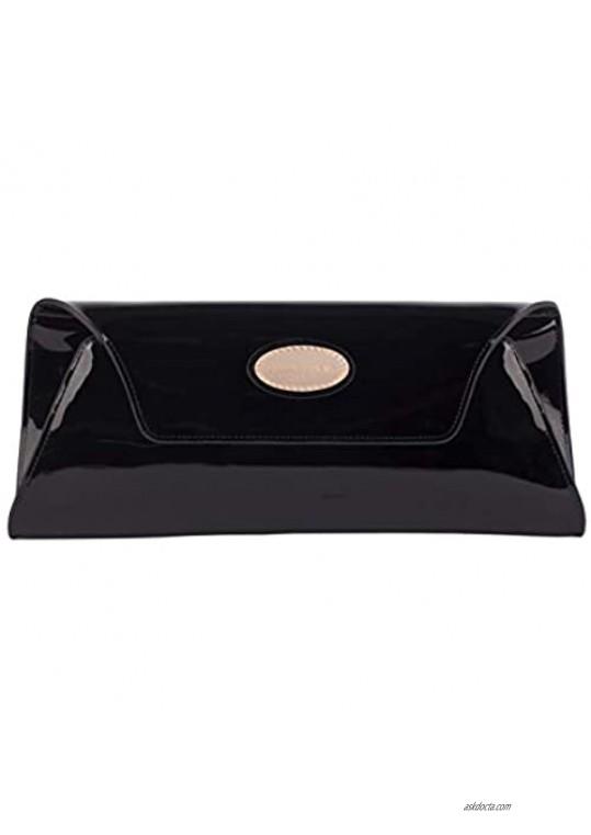 Smith & Canova Women's Envelope Style Clutch/Purse Clutch