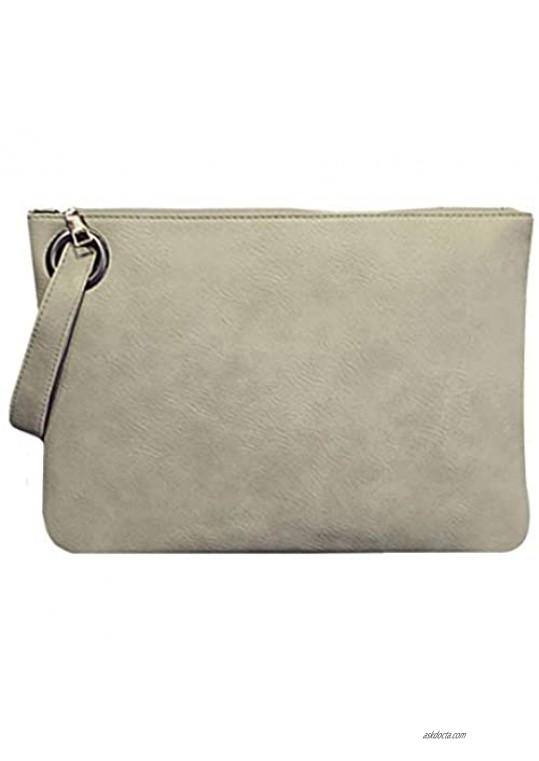 ZLMBAGUS Womens Envelope Evening Bags Clutch Purse Wristlet Wallet Handbag Purse