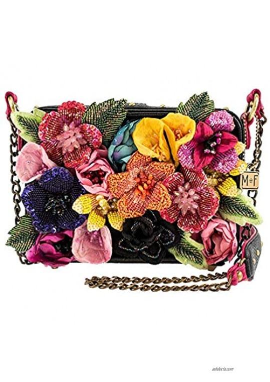 Mary Frances Blooming Beauty Embellished Crossbody Handbag