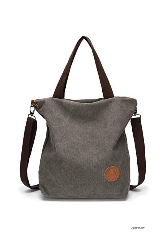 Women Tote Bag Myhozee Fashion Casual Shoulder Purse Cross body Handbags for School and Traveling