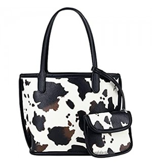 Small Cow Print Bag,Tote Handbags for Women on Sale Designer , 3 piece purse sets for women