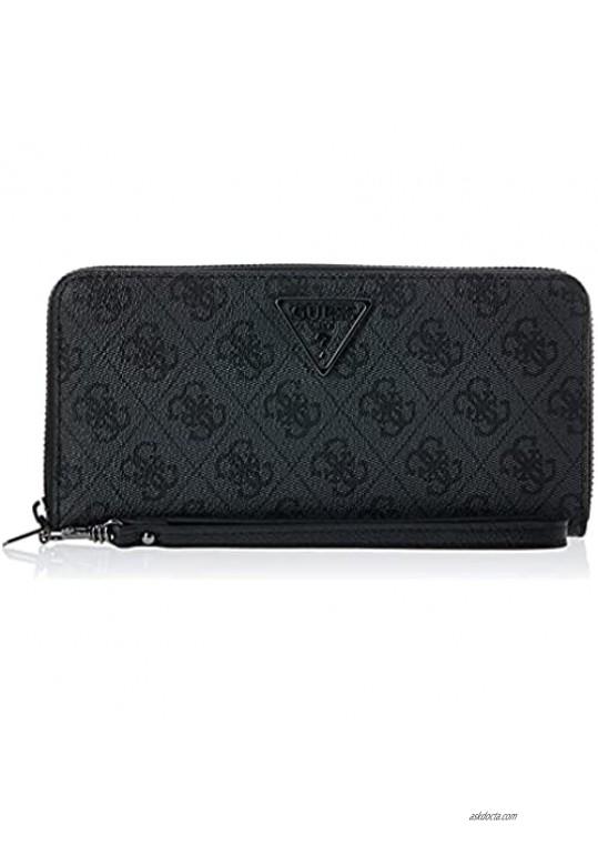 GUESS Women's Noelle Large Zip Around Wallet