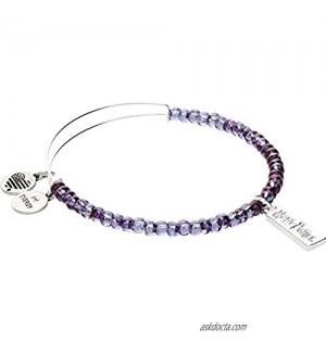 Alex and Ani Harry Potter  Illumination Purple Beaded Bracelet