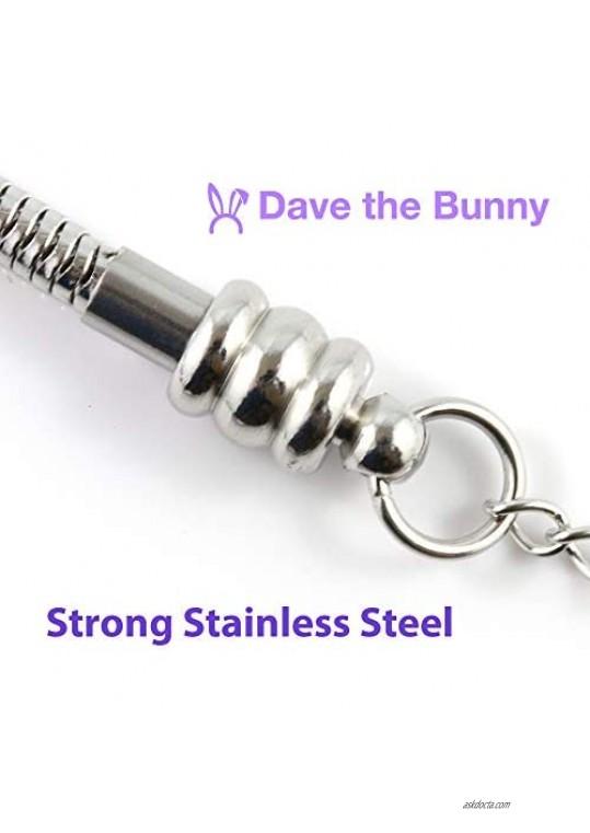 Trumpet Bracelet | Stainless Steel Snake Chain Bracelet